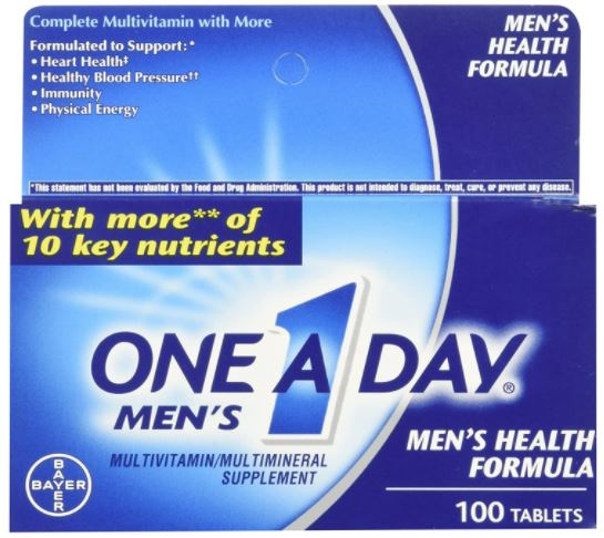 One a Day Multivitamin for Men