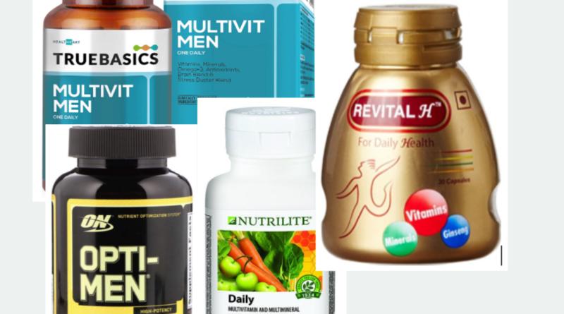 Best Multivitamin tablets for Men