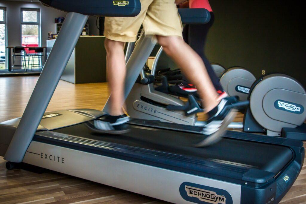Health benefits of treadmill running