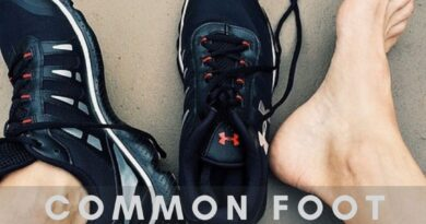 COMMON FOOT INJURIES AFTER RUNNING