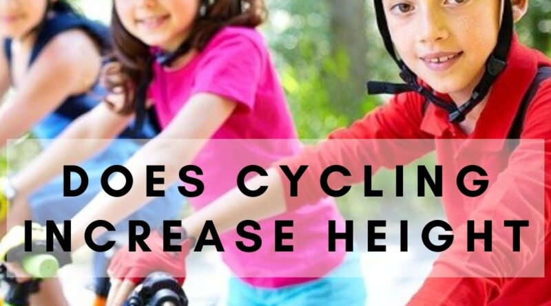 Does Cycling Increase Height