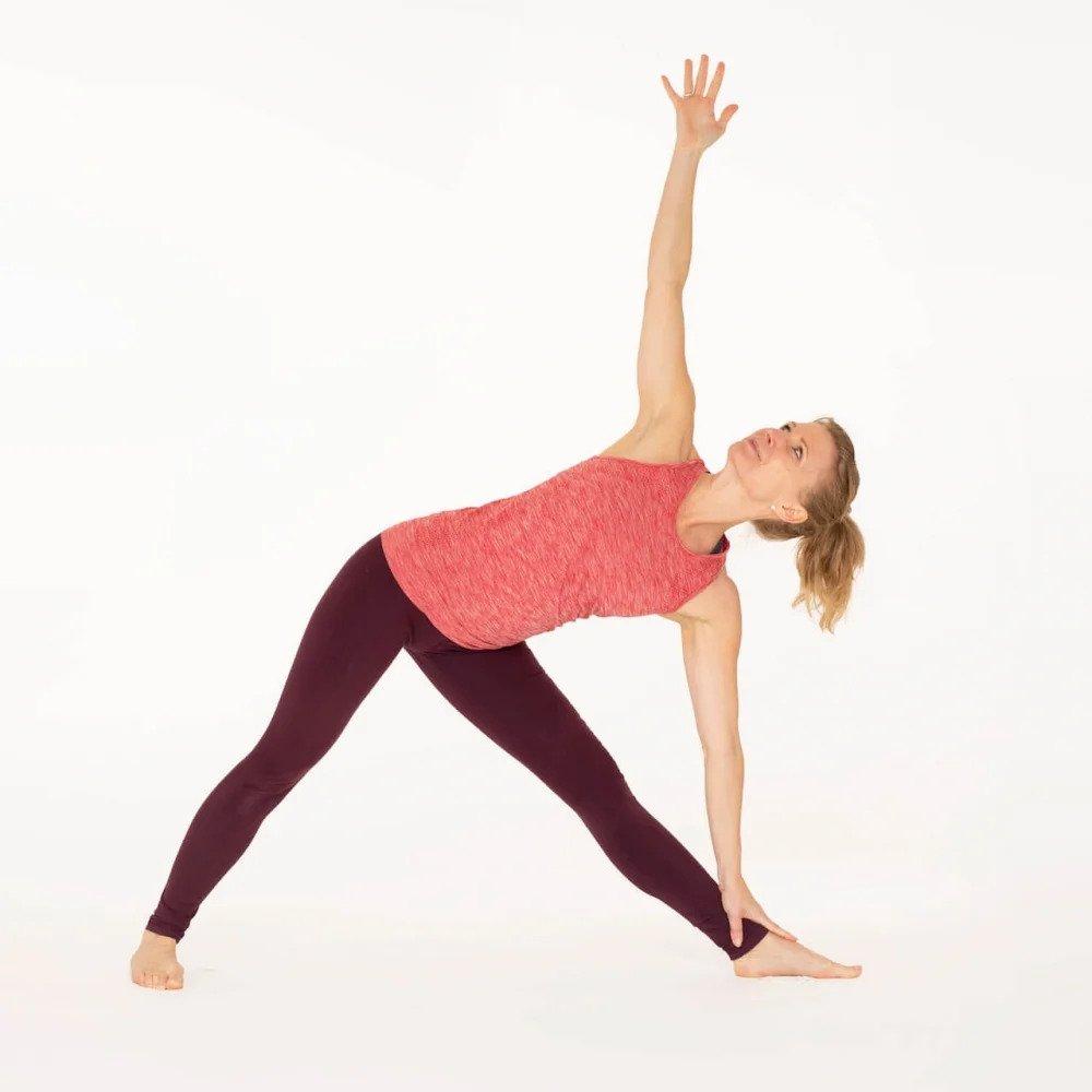 Trikonasana- Yoga