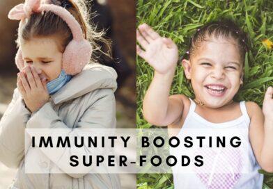 Immunity Boosting Foods for Kids