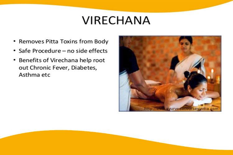 Ayurvedic Medicines for diabetes- Virechana Therapy