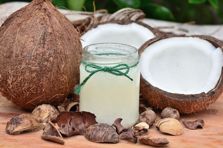 Dandruff- Coconut Oil