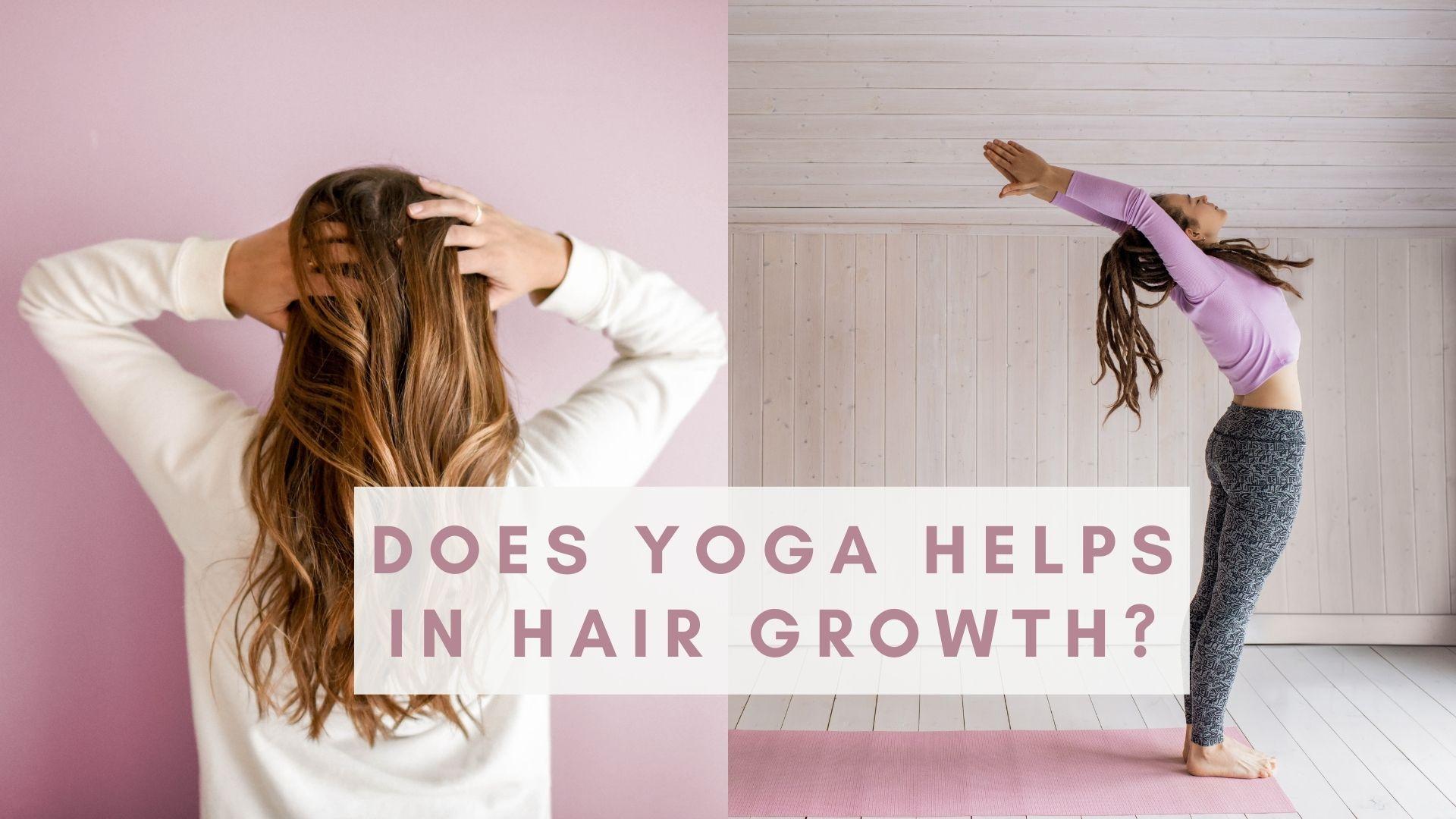 Yoga for Hair Growth