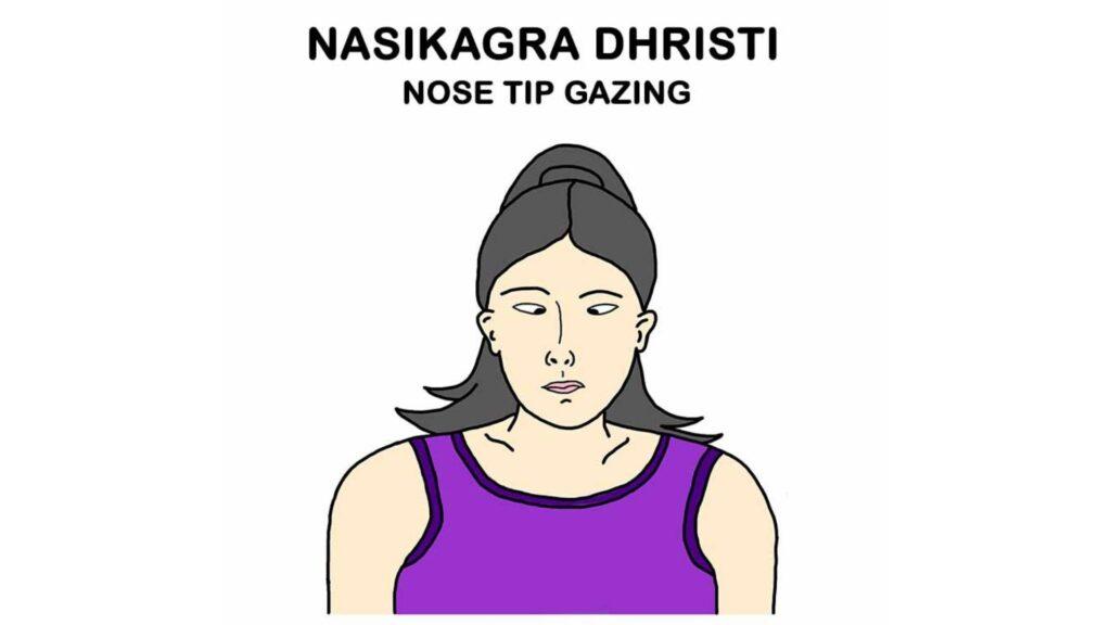 Nose Tip Gazing
